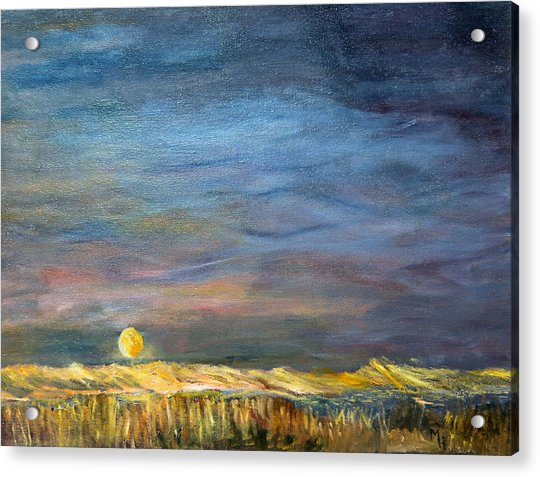 A Little Moon Magic Acrylic Print