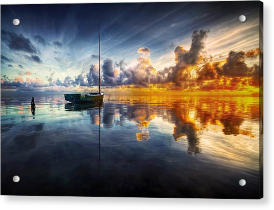 A Time For Reflection Acrylic Print by Mark Yugawa