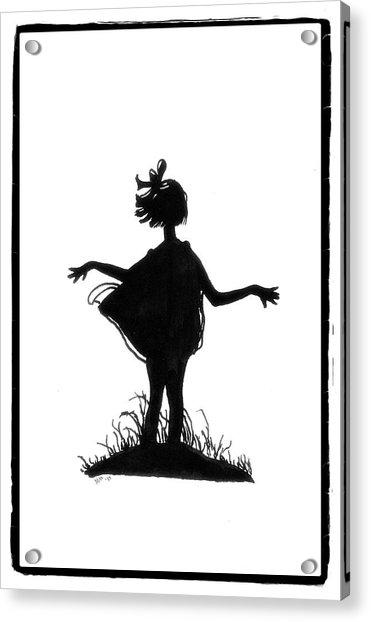 A Windy Day Acrylic Print