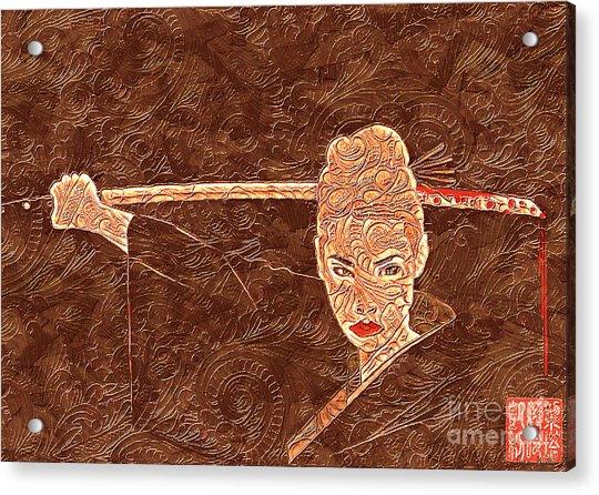 A Woman Scorned Acrylic Print
