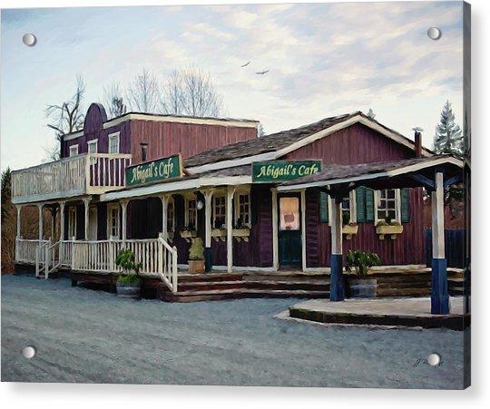 Abigail's Cafe - Hope Valley Art Acrylic Print