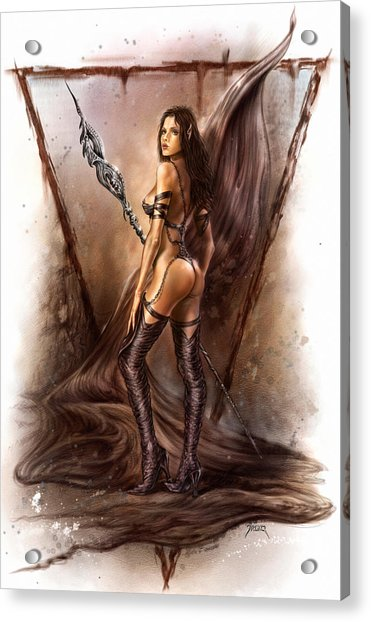 About Elves And Steel  Acrylic Print