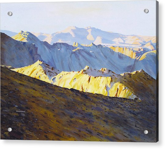 Above Bighorn Acrylic Print
