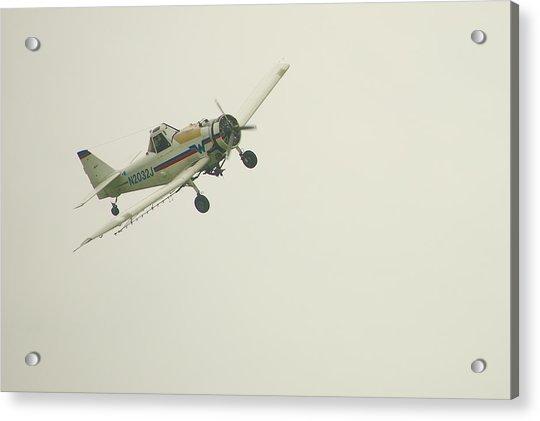 Above Worthington Acrylic Print