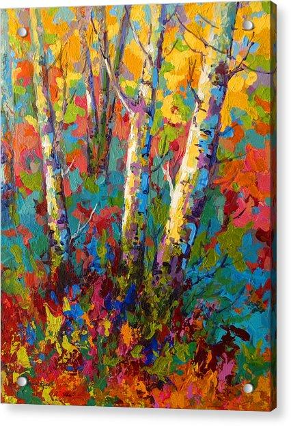 Abstract Autumn II Acrylic Print