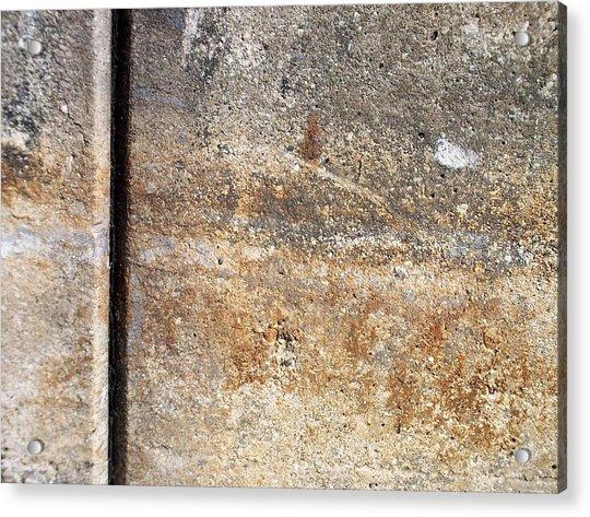 Abstract Concrete 17 Acrylic Print