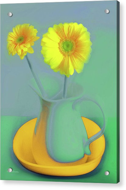 Abstract Floral Art 307 Acrylic Print