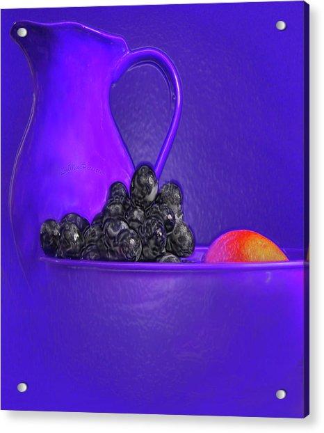 Abstract Fruit Art 53 Acrylic Print