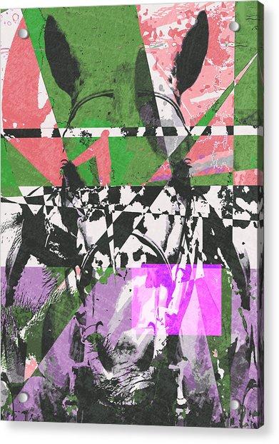 Abstract Horse Acrylic Print