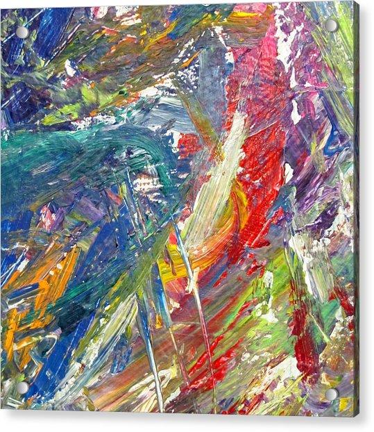 Abstract Jungle 1 Acrylic Print