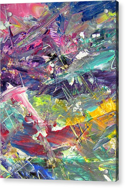 Abstract Jungle 6 Acrylic Print