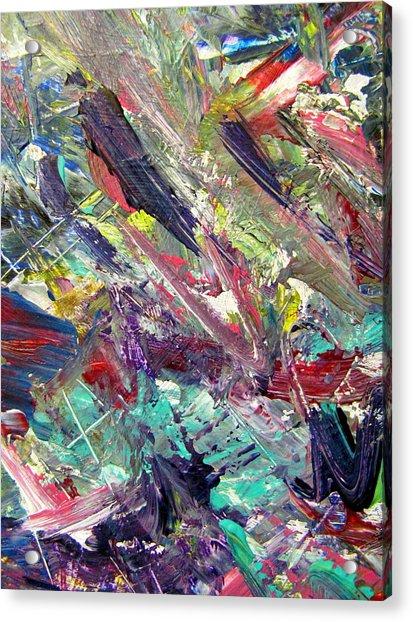 Abstract Jungle 7 Acrylic Print