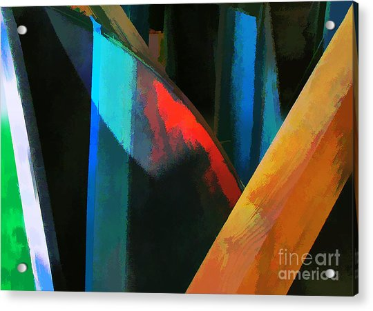 Abstract No. Twenty Four Acrylic Print by Tom Griffithe