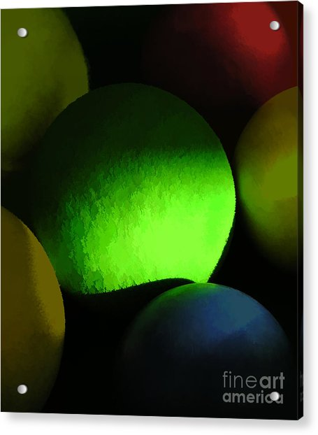 Abstract No. Twenty One Acrylic Print by Tom Griffithe