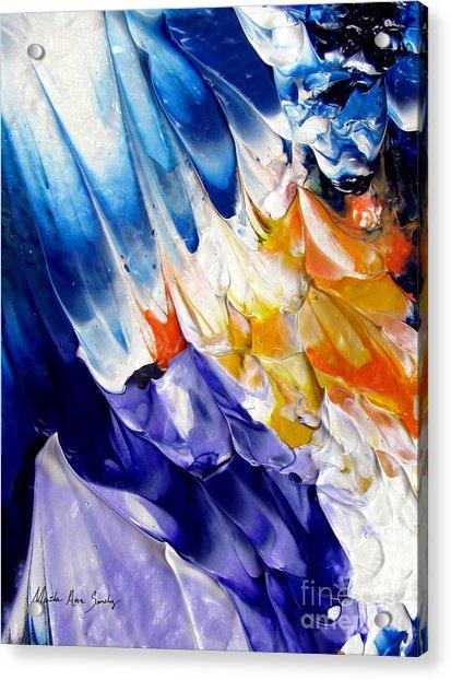 Abstract Series 0615a-6p2 Acrylic Print