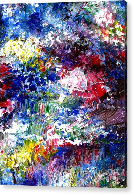 Abstract Series 070815 A2 Acrylic Print