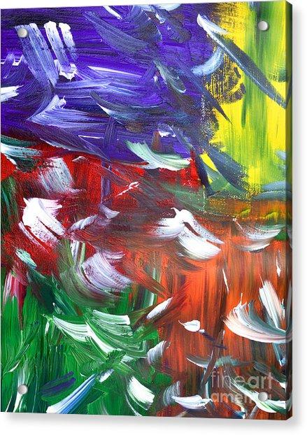 Abstract Series E1015ap Acrylic Print