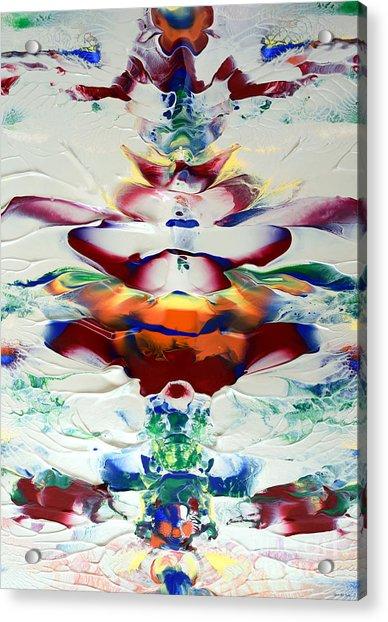 Abstract Series H1015al Acrylic Print