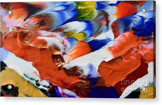 Abstract Series N1015al  Acrylic Print