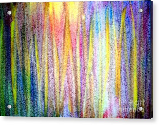 Abstract Watercolor A2 1216 Acrylic Print