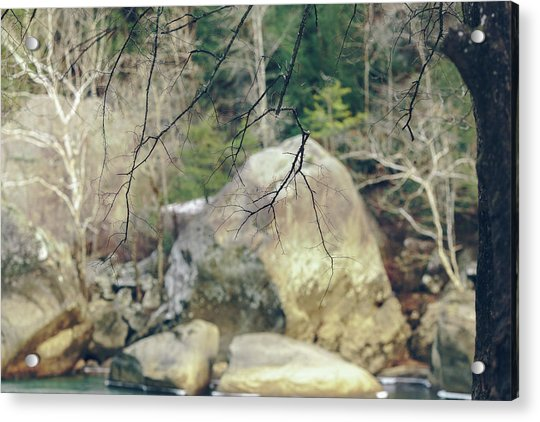 Across From Eagle Falls Acrylic Print