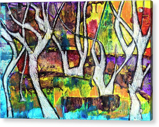 Acrylic Forest  Acrylic Print