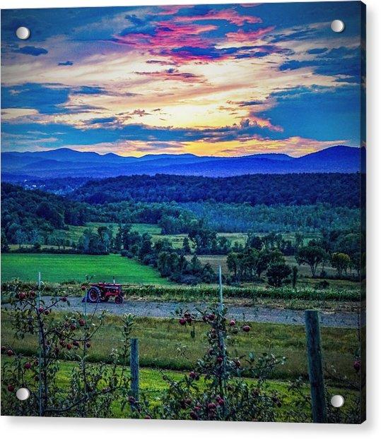 Adirondack Country Acrylic Print