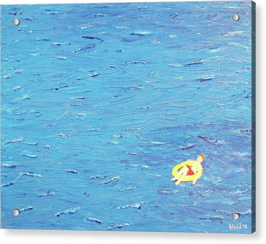 Adrift Acrylic Print