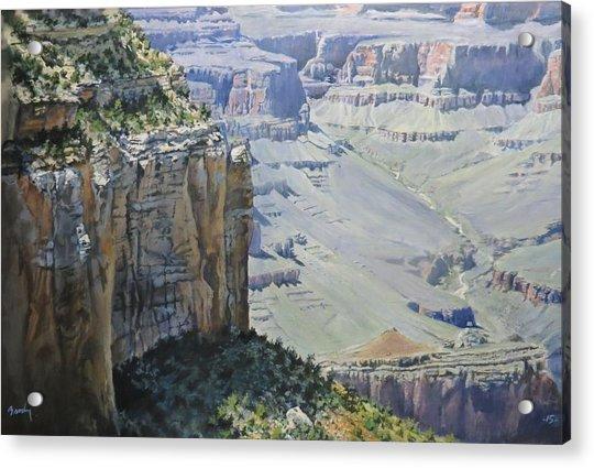 Afternoon At The Canyon Acrylic Print