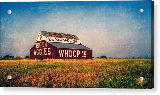 Aggie Barn 2015 Acrylic Print