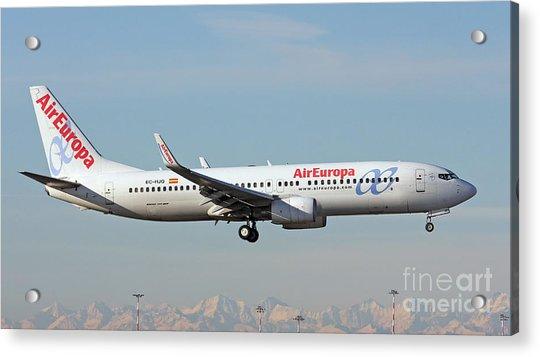 Aireuropa - Boeing 737-800 - Ec-hjq  Acrylic Print