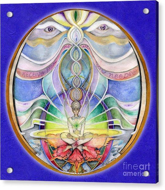 Alignment Mandala Acrylic Print