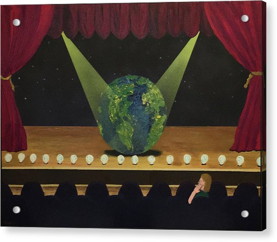 All The World's On Stage Acrylic Print