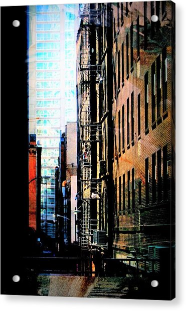 Alley Abstract #2 Acrylic Print