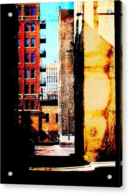 Alley Abstract Acrylic Print