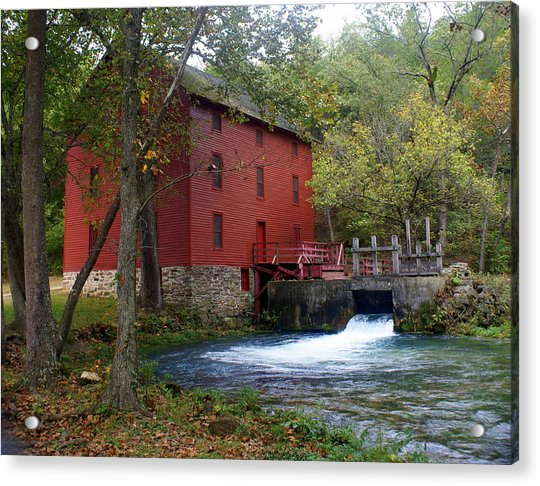 Alley Sprng Mill 3 Acrylic Print