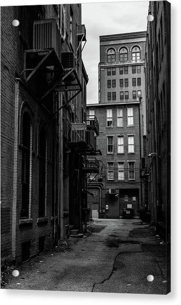 Acrylic Print featuring the photograph Alleyway I by Break The Silhouette