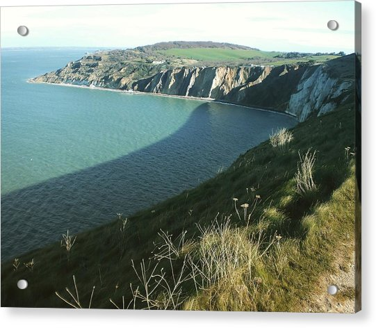 Alum Bay, Isle Of Wight Acrylic Print