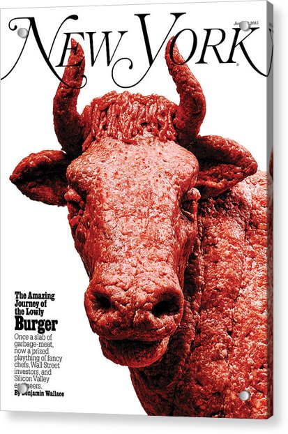 Acrylic Print featuring the photograph The Amazing Journey Of The Hamburger by Bobby Doherty