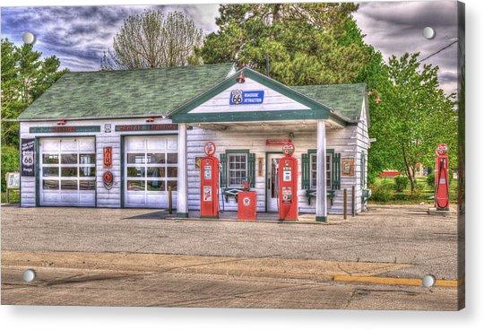Ambler's Texaco Gas Station Acrylic Print