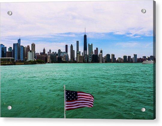 American Chi 2 Acrylic Print