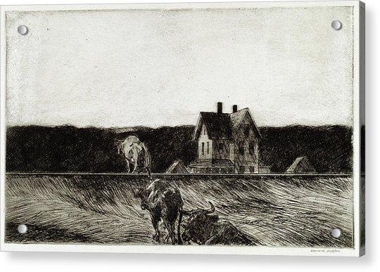 American Landscape Acrylic Print