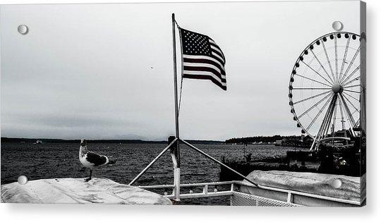American Seattle Acrylic Print