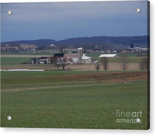 Amish Homestead 125 Acrylic Print