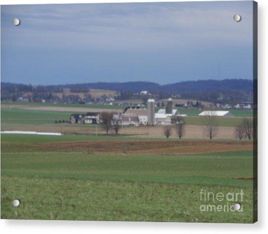 Amish Homestead 3 Acrylic Print