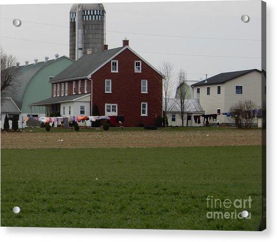 Amish Homestead 7 Acrylic Print