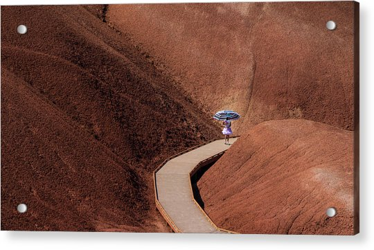 Among The Painted Hills Acrylic Print
