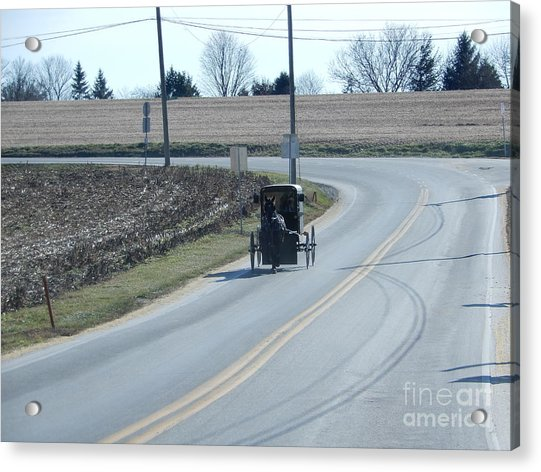 An Afternoon Buggy Ride Acrylic Print