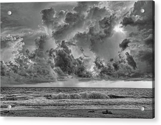 And The Rains Came 2 - Clouds Acrylic Print