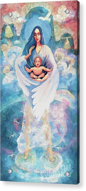 Angel Blessing Acrylic Print